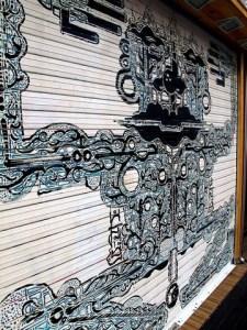 Hongdae Street Art, Seoul, Korea