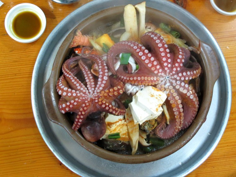 Haemultang, Korean Food, Seafood