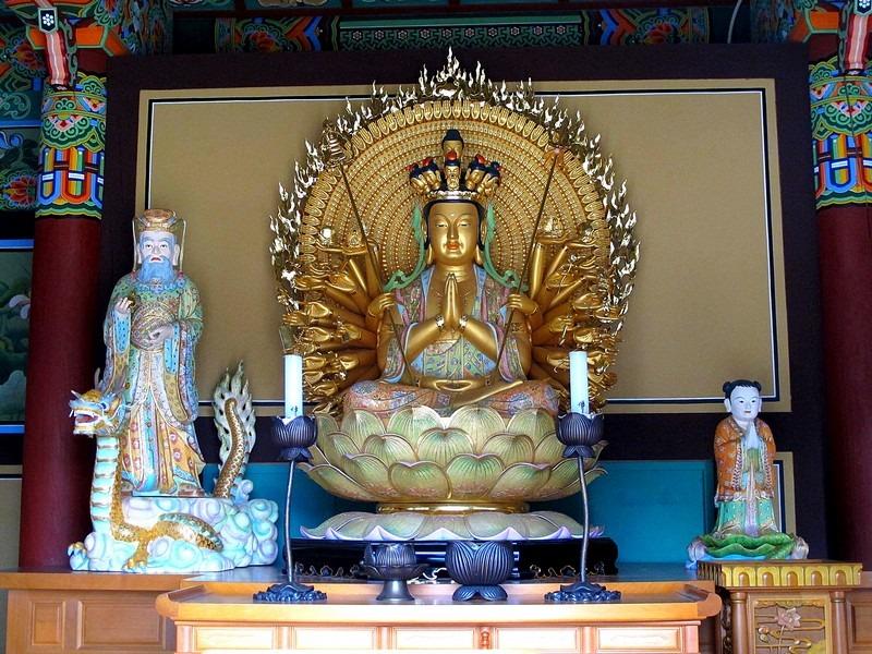 Daejeonsa Temple, Cheongsong, Korea