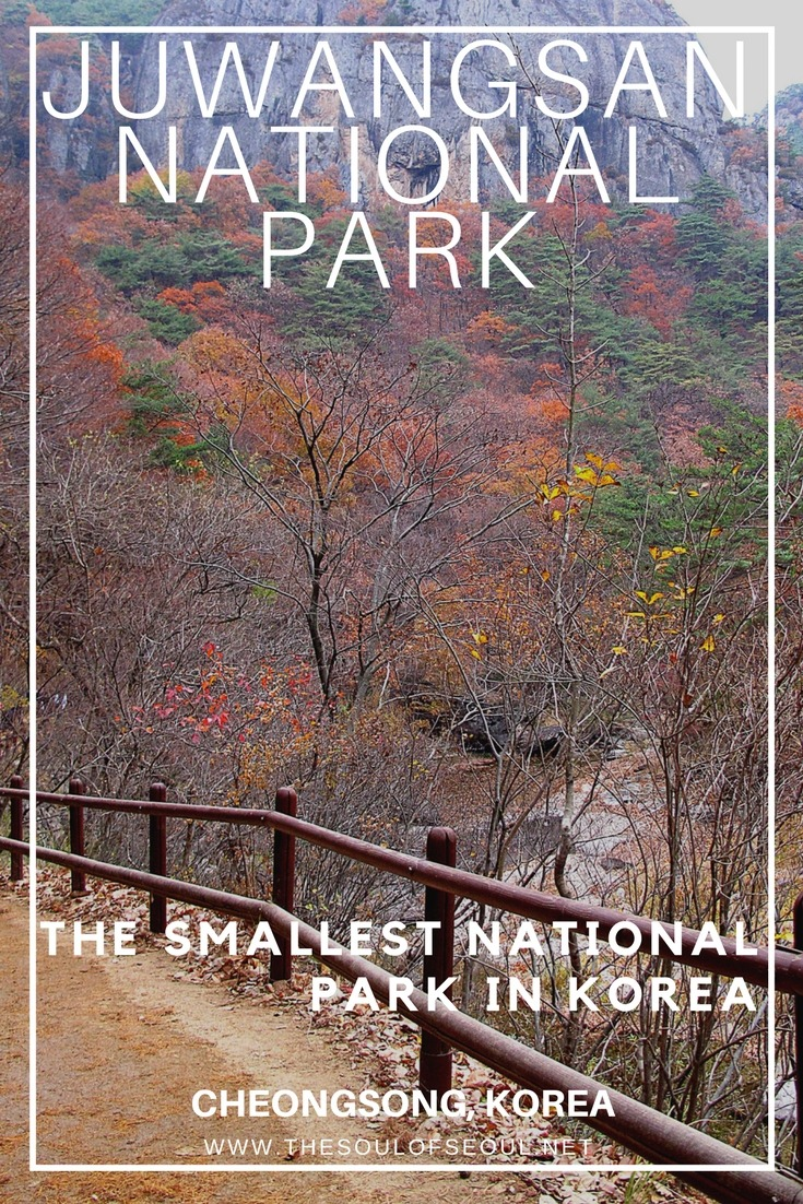 Juwangsan National Park, Cheongsong, Korea: Juwangsan National Park was designated in 1976 and holds the title of the smallest national park in the Korea, but it's got everything you'd want in a national park from mountains, rivers and waterfalls to tales of assassinations.