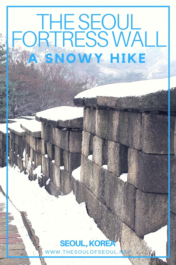 The Seoul Fortress Wall, A Snowy Hike, Seoul, Korea: The Seoul Fortress Wall is a great hike in any season. In winter, the trails are cleared for easy access and are easy to follow for any traveler to Seoul, Korea. Great hike and great views in the city.