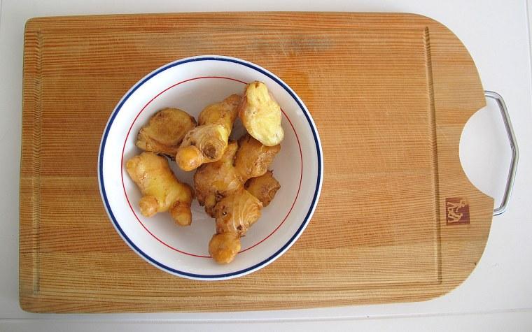 Korean Cooking: Food, Side Dish, Pickled Ginger