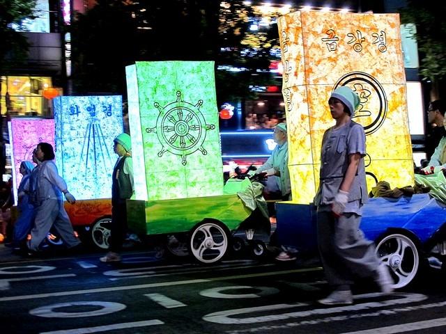 Lotus Lantern Festival, Seoul, Korea 2014