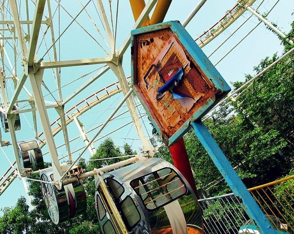 Gaya Land an Abandoned Amusement Park
