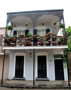 French Quarter, New Orleans, Lousiana Architecture