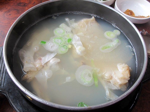 Korean Cooking: Food, Soup, Daegutang, Cod fish stew 대구탕