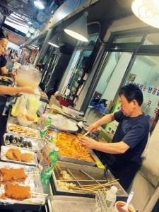 Seoul, Korea: Tongin Market