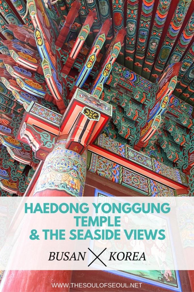 Haedong Yonggung Temple & The Seaside Views, Busan, Korea