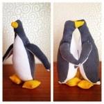 handsewn penguin
