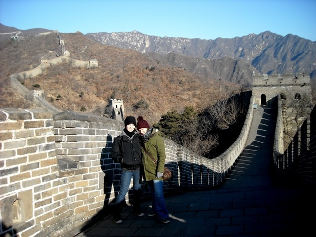 Climbed the Great Wall of China in the middle of winter.