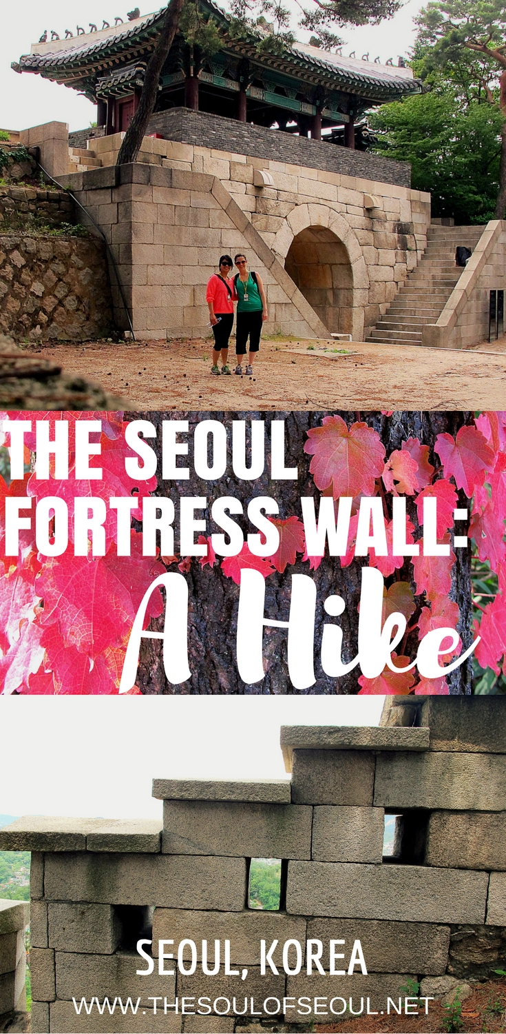 Hiking The Seoul Fortress Wall, Seoul, Korea: The Seoul Fortress Wall circles the center of the city and also goes back behind the Blue House or the President's House. The hike requires a valid ID in this section due to the military presence. Here's all you need to know to walk along the Seoul Fortress Wall in Seoul, Korea.