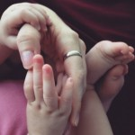 mother and daughter hands