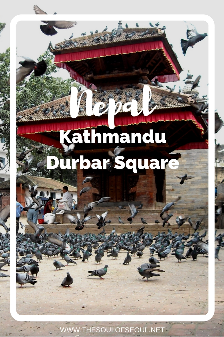 Durbar Square in Kathmandu, Nepal: Two girls take on Nepal: First, we saw Kumari Bahal, a traditional 18th century Newari palace built by King Jaya Prakesh Malla. Durbar Square is a must see in Kathmandu, Nepal. Traveling in Nepal and what to see. Female travel blogger.