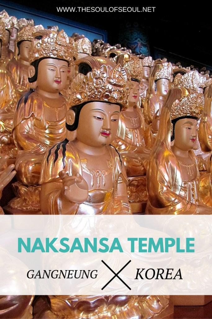 Naksansa Temple, Gangneung, Korea