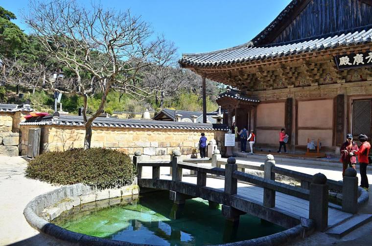 Tongdosa Temple in Yangsan, Gyeongsangnam-do