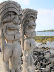 Pu'uhonua O Honaunau National Historical Park, The Big Island, Hawaii, USA