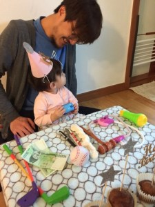 Baby's first birthday in Korea