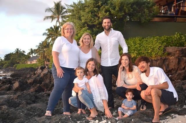 Family Photo in Hawaii