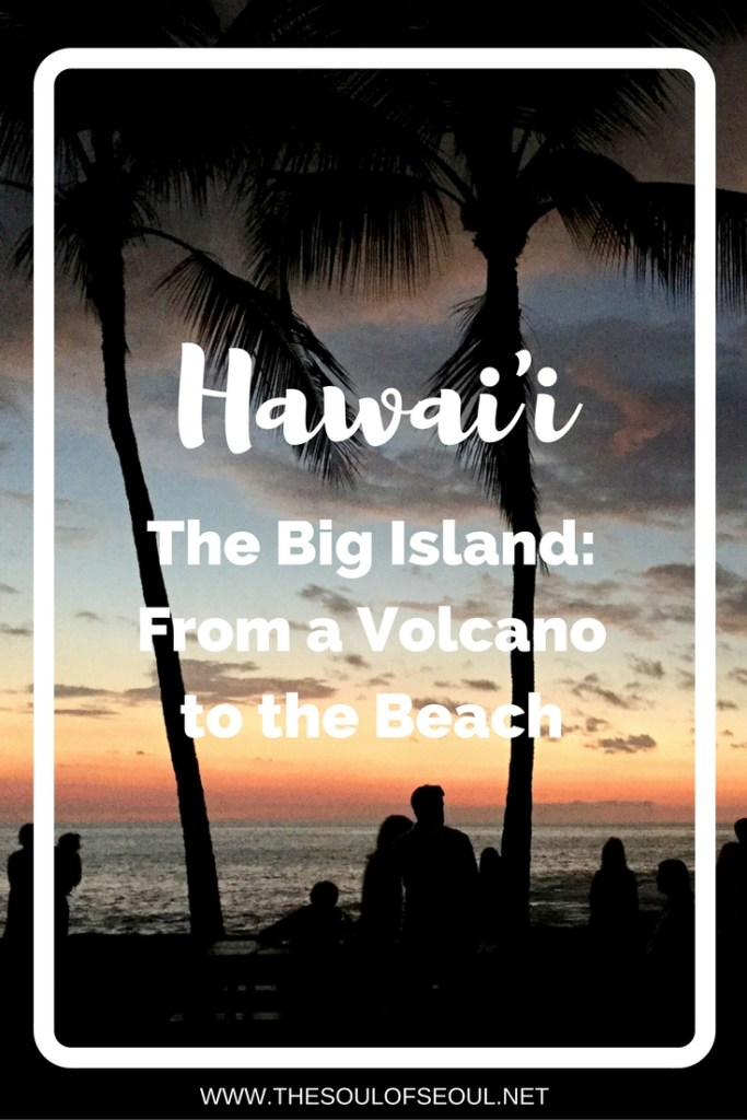 Hawaii, USA: The Big Island: From a Volcano to The Beach