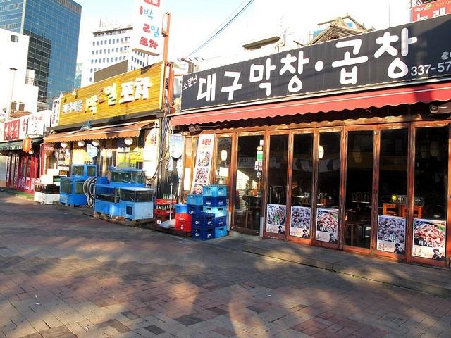Hongdae, Seoul, Korea