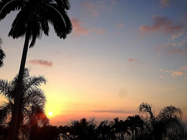 The Big Island, Hawaii, sunset