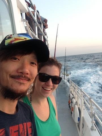 The Big Island, Hawaii, Jae-oo and Hallie