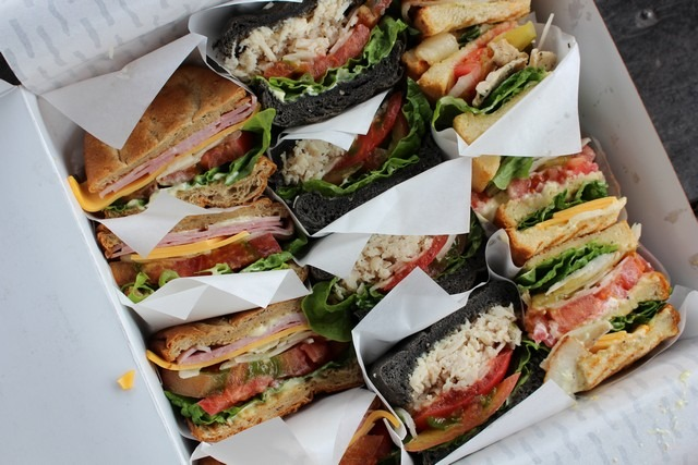 Cafe Mama's sandwich set