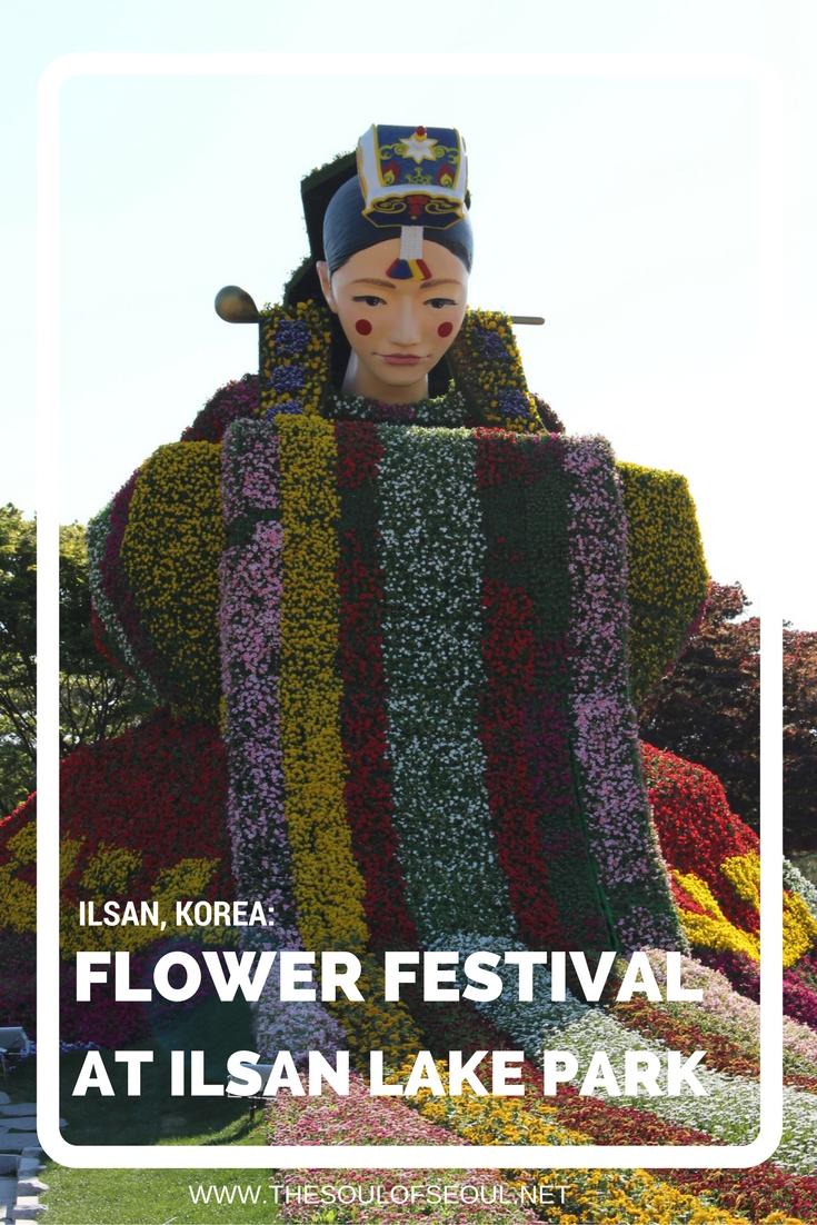 Flower Festival At Ilsan Lake Park, Ilsan, Korea