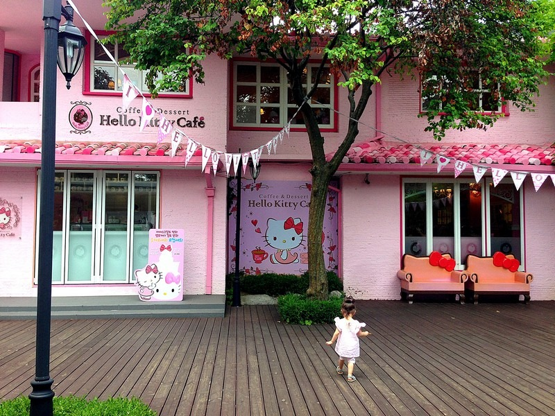 Hello Kitty Houses Real Houses the cutest thing in hongdae: the hello kitty cafe