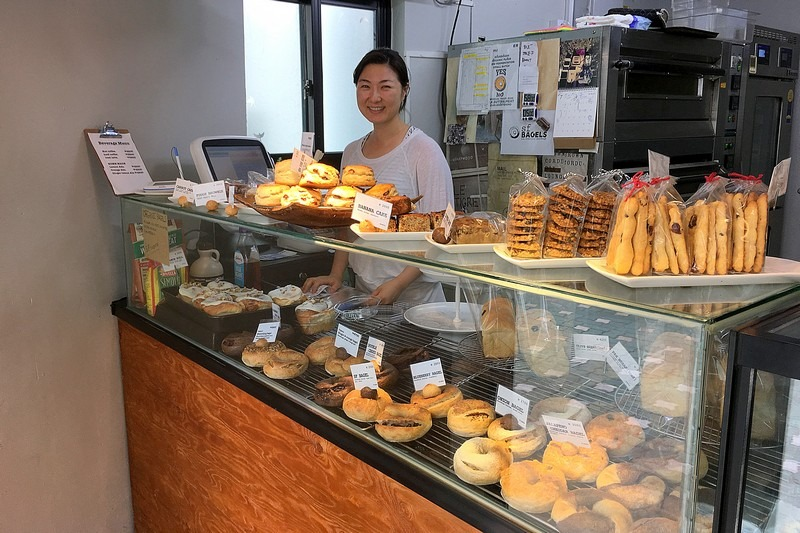 SF Bagels, Yeonnam-dong, Seoul, Korea