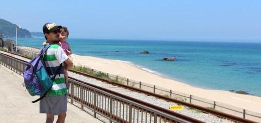 Jeongdongjin Beach, Gangneung, Korea