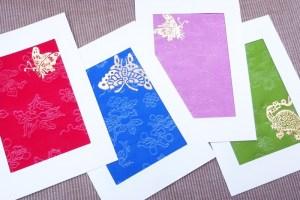 Kumbakyeon: gilded postcards, Bukchon, Seoul, Korea