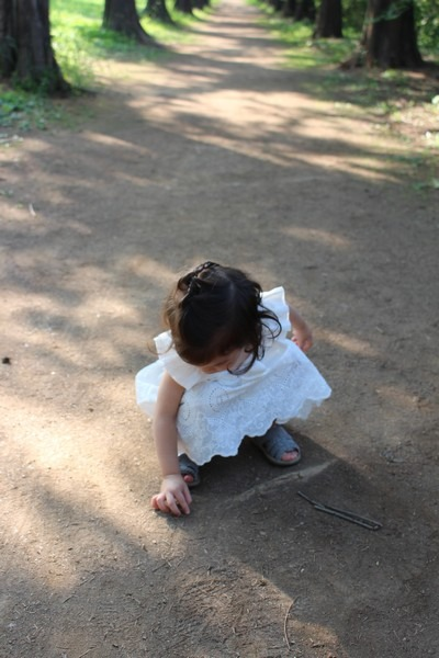 babe at Nanji Stream Park, Mapo-gu, Seoul, Korea