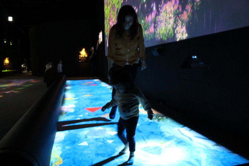 TeamLab World, Jamsil, Seoul, Korea: Interactive Art Museum