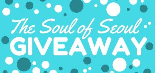 The Soul of Seoul Giveaway. Blog Giveaway.