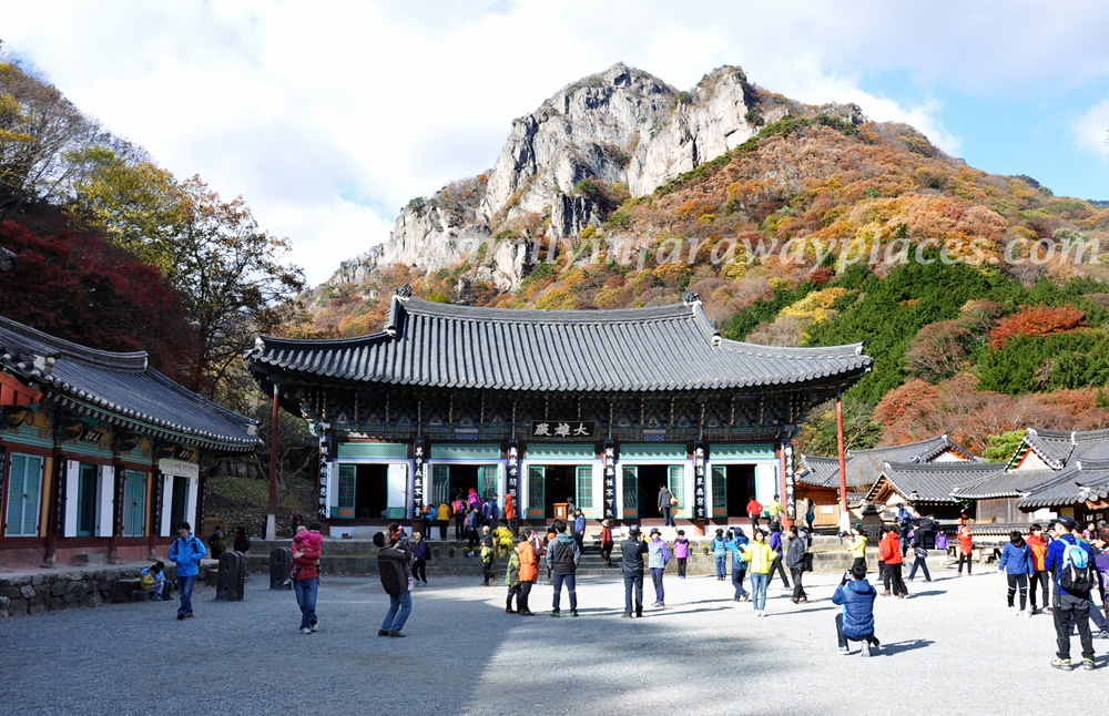 Family In Far Away Places: Baekyangsa Temple, Korea