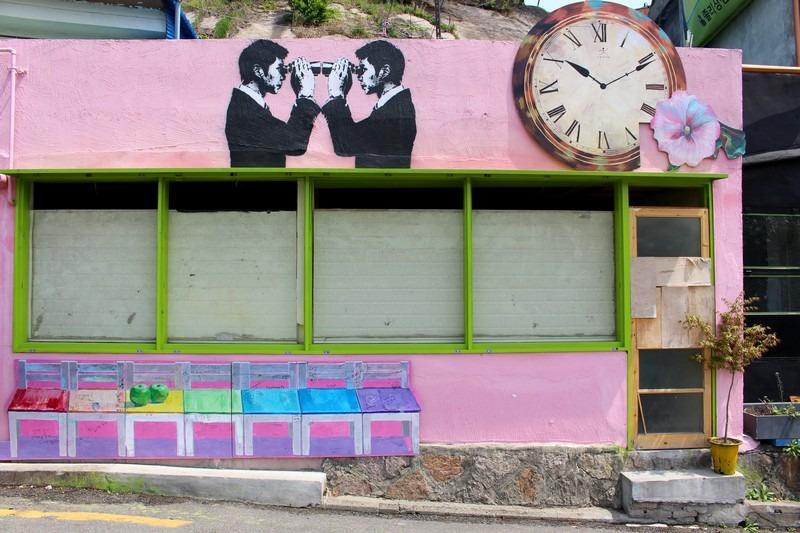 Ihwa Mural Village, Seoul, Korea
