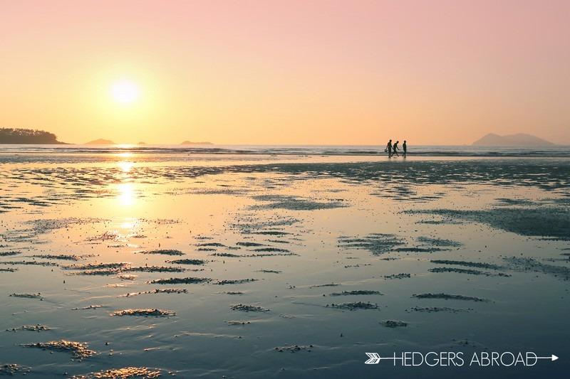 Gosapo Beach, Hedger's Abroad