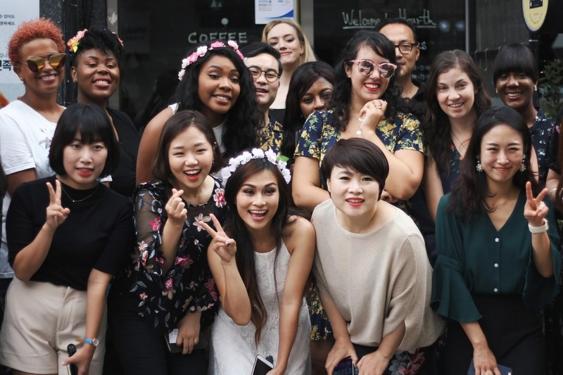 Seoul Blogger Brunch, K-Beauty Event Hosted by 87 Pages, Seoul, Korea