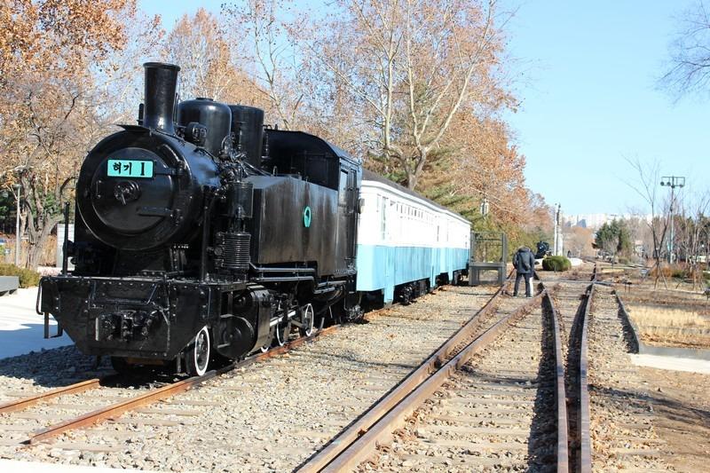 Gyeongchun Forest Line Park, Railroad Trail, Seoul, Korea