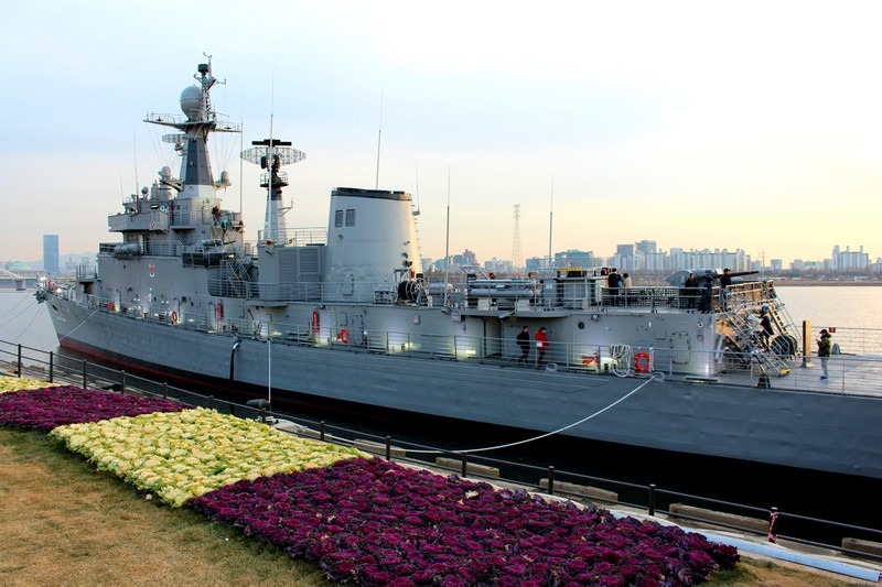 Seoul Battleship Park, Mangwon-dong, Mapo-gu, Seoul, Korea