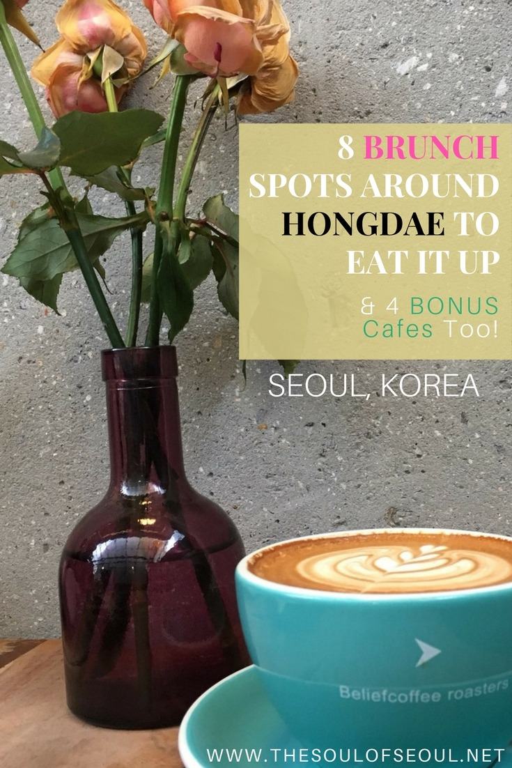 8 Brunch Spots Around Hongdae To Eat It Up, Hongdae, Seoul, Korea: These are restaurants you won't want to miss. Grab some friends and plan some morning outings in Seoul, Korea.