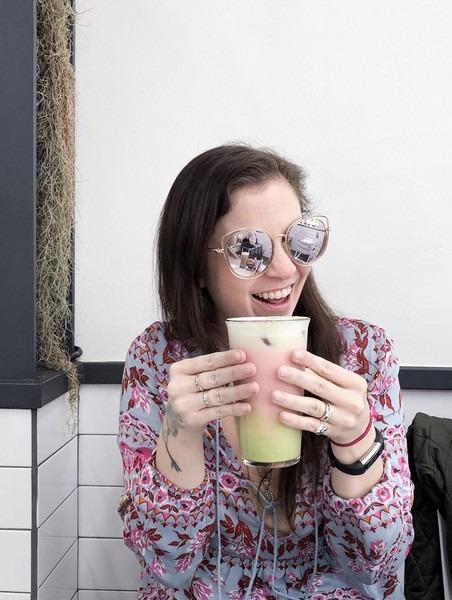Snap Coffee, Hapjeong, Seoul, Korea: Hallie Bradley