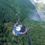 Cafe Sann, Danyang, Korea: Paragliding