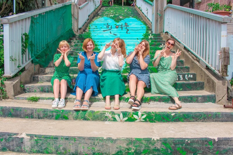 Desa Budaya Huinnyeoul (희 여울 문화 마을), Yeongdo-gu, Busan, Korea