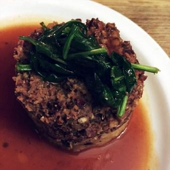 Vegan Haggis With Root Mash & Gravy