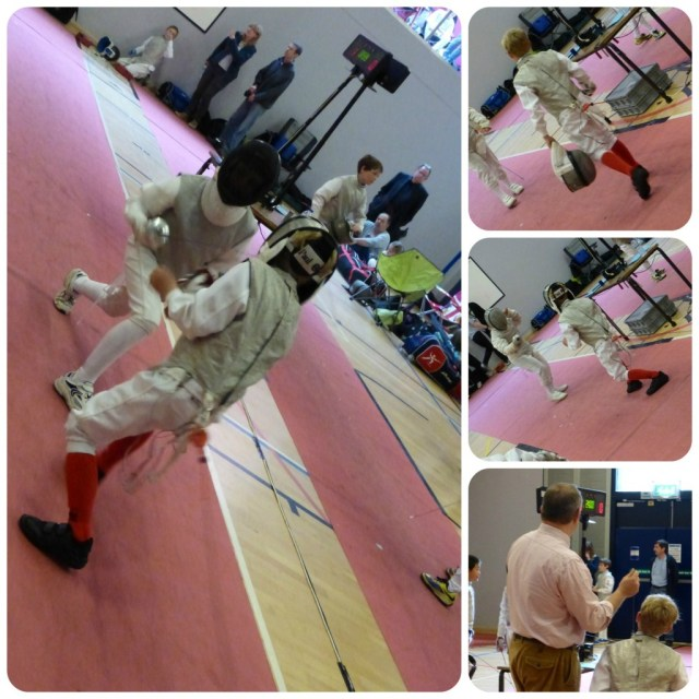 Fencing Poule One