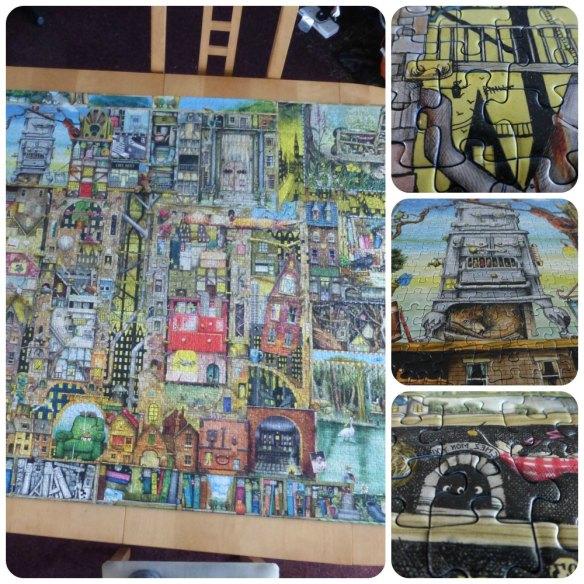 colin thompson bizarre town puzzle