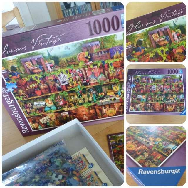 glorious vintage ravensburger puzzle