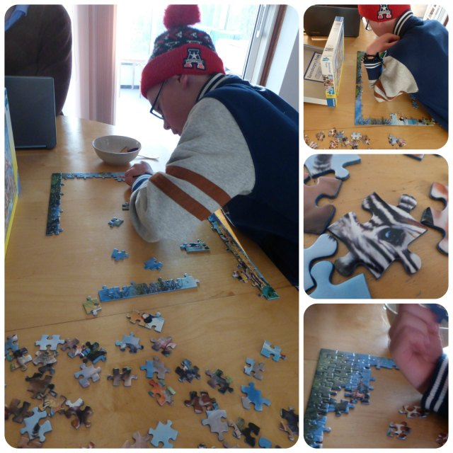 african friends puzzle